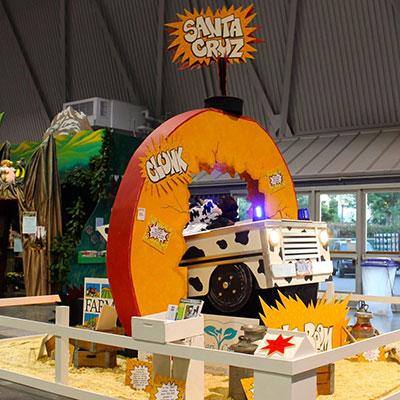 Santa Cruz California State Fair Booth